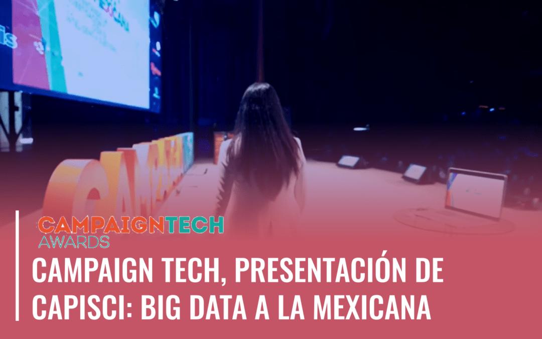 Big Data a la Mexicana: Presentación de Capisci